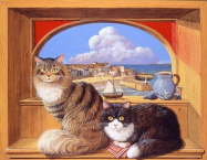 St.Ives cats - Colin Birchall