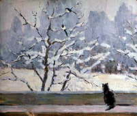 The Winter Window - Vladimir Tokarev